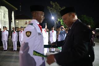 Jalankan Tugas Mulia, Sebanyak 30 Anggota Paskibraka Kota Cirebon Dikukuhkan