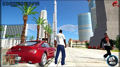 GTA San Andreas Modern City Dubai Mod Pack For Low End Pc