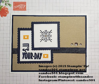 Easy Handmade Card Around the Corner Stamp Set sandee904