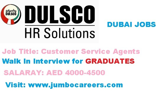 latest walk inn interview in dubai, customer service executive jobs in dubai