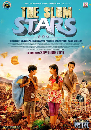 Poster Of Hindi Movie The Slum Stars 2017 Full HD Movie Free Download 720P Watch Online