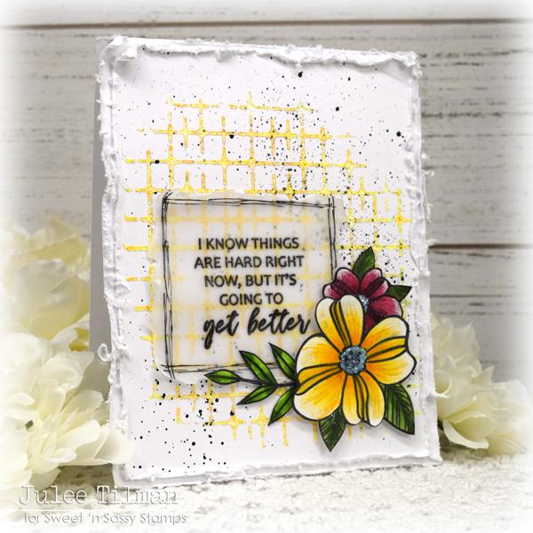 Encouragement card by Julee Tilman