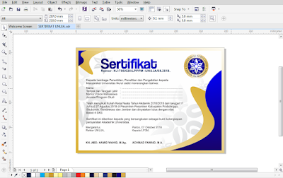 File CDR Sertifikat
