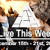 Live This Week: December 15th - 21st, 2019