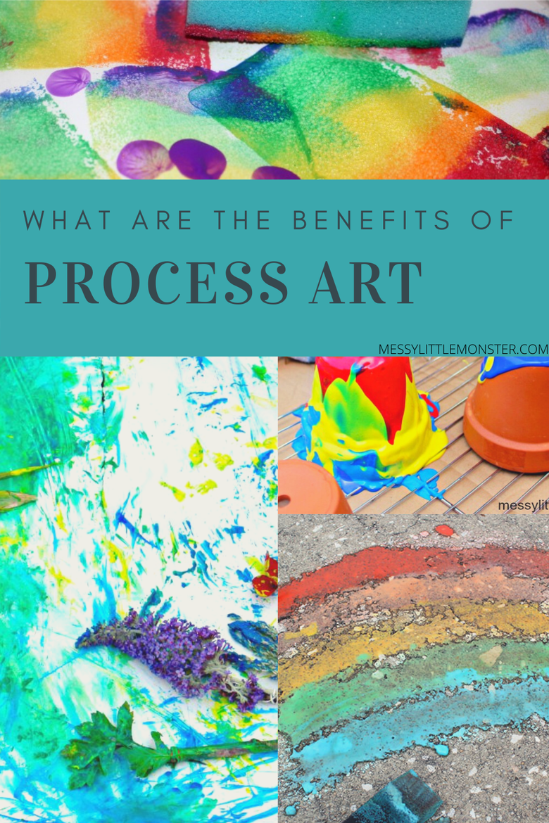 benefits of process art for kids