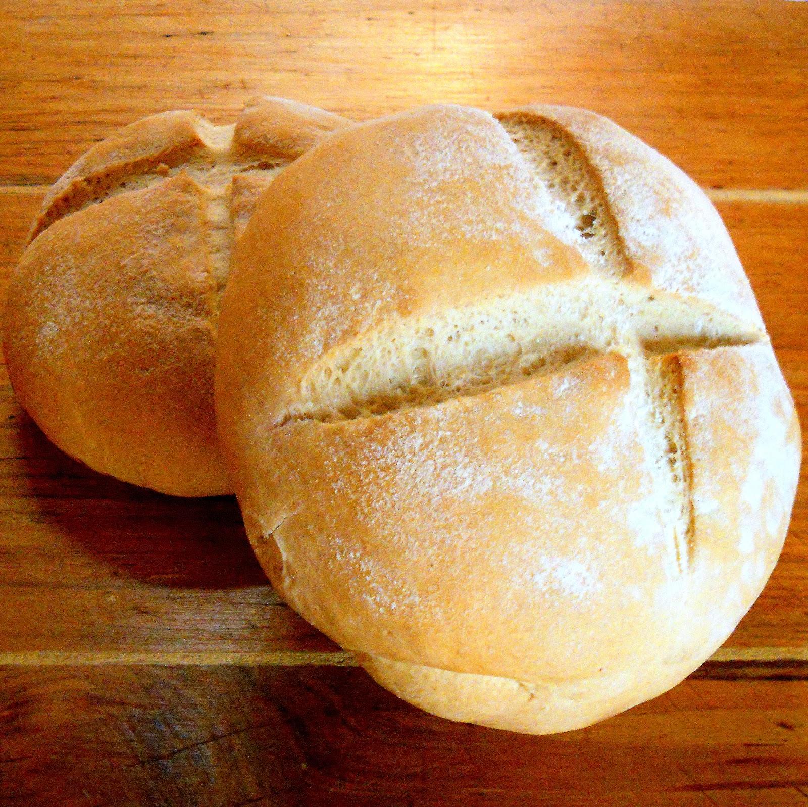 Y levadura casero de receta con pan grasa