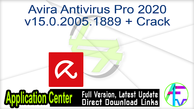 Avira Antivirus Pro 2020 v15.0.2005.1889 + Crack