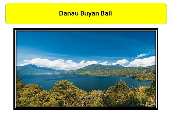 Danau Buyan Bali