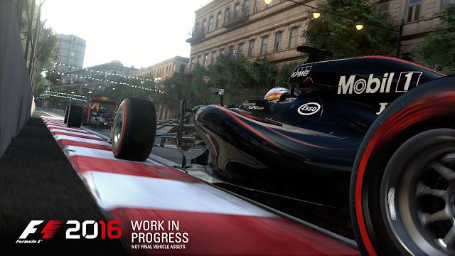 F1 2016 será lançado para PC, PS4 e Xbox One com Modo Carreira Imersivo
