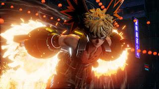 Jump Force: Primeiras imagens de Bakugo