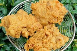 Cara Membuat Ayam Goreng Tepung KFC yang Enak Dan Krispi
