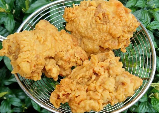 Cara membuat ayam goreng tepung KFC krispi