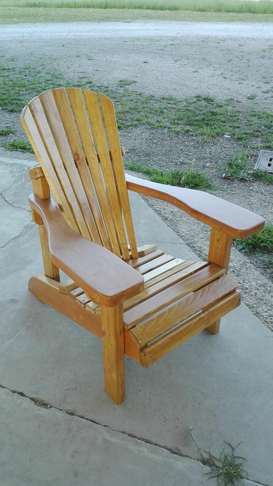 Adirondack Chair Sedie Da Giardino.Alex Costruisce Sedia Giardino Adirondack Chair