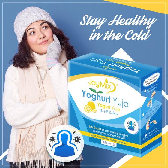 joymix yogurt yuja for immunity