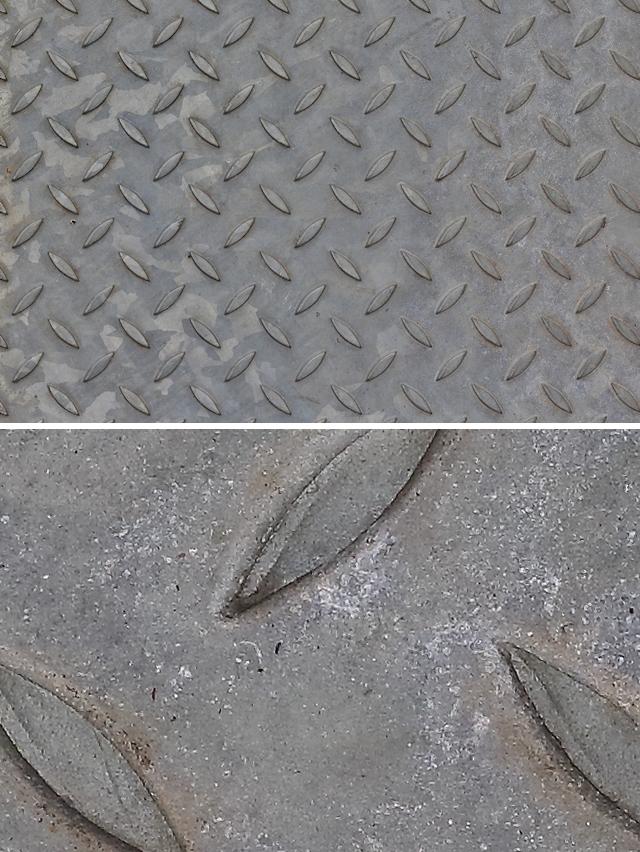 Metal studs texture