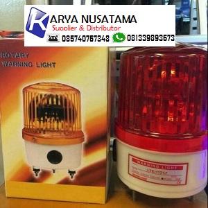 Jual Warning Light Proyek Putar Buzzer AC 220 V di Sulawesi