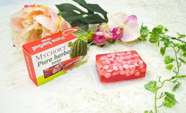 MyChoice Pure Herbal Fruity Soap with Watermelon Extract review