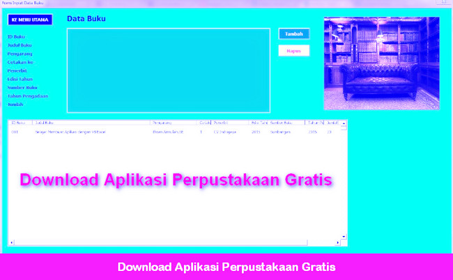 Download Aplikasi Perpustakaan Gratis