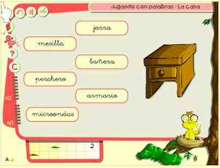 Resultado de imagen de JUGAMOS CON PALABRAS VOCABULARIO