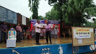 केंद्रीय विद्यालय मलाजखंड में मनाया जा रहा है हिंदी पखवाड़ा