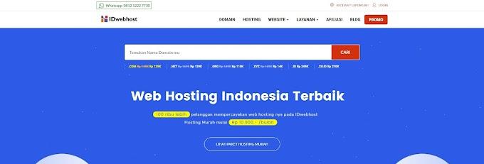 Kode Promo IDwebhost - Diskon Potongan up to 57%