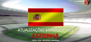 Atualização Patch da Espanha (Agosto) Brasfoot 2016