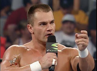 WWE / WWF Summerslam 2001 - Lance Storm wanted to be serious for a minute before his match with Edge