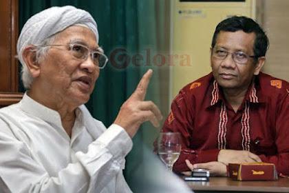 Gus Mus Peringatkan Mahfud MD: Hati-hati Sampean, Jabatan itu Merusak Orang