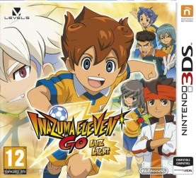 Inazuma Eleven GO Light, 3DS, Mega, Mediafire