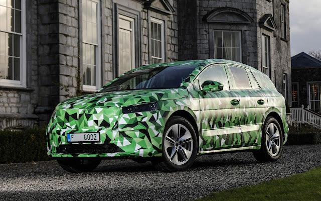 Enyaq iV: primeiro carro 100% elétrico da Skoda - detalhes