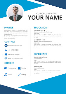 simple resume format download in ms word