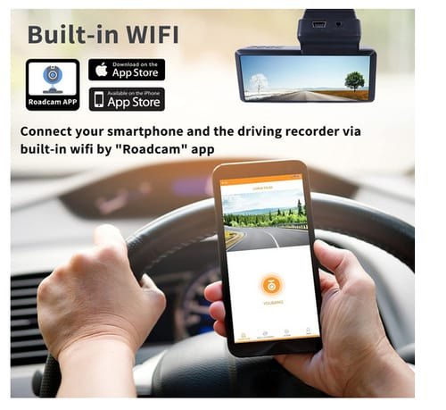 MHCABSR 3.16 inch Display Car Dashboard Camera