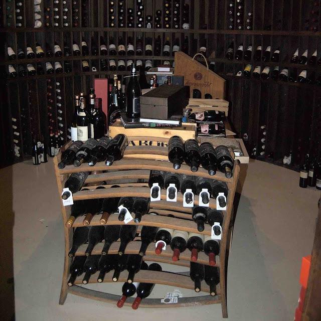 Silo wine cellar at the De Hoop Collection