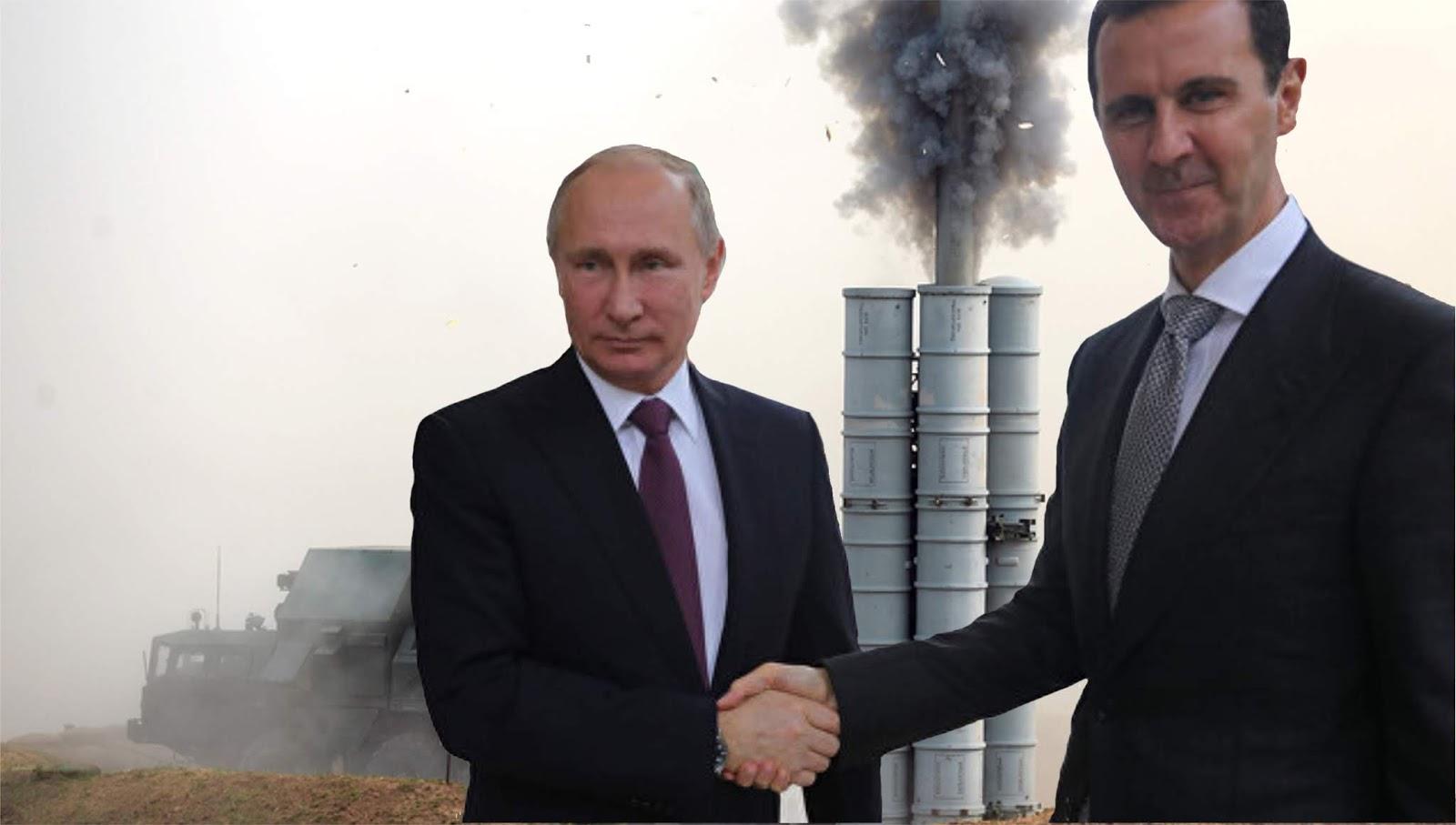 Putin: Pertahanan udara Suriah diperkuat untuk mencegah ancaman