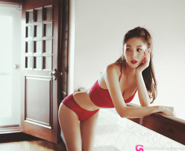 Lee Chae Eun  Lingerie Set - very cute asian girl - girlcute4u.blogspot.com (1)