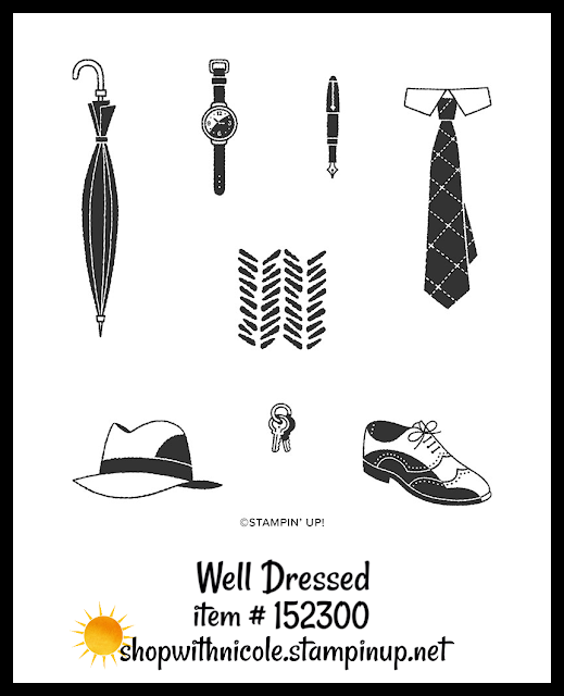 Well Dressed stamp set | item 152300 | Stampin' Up! Sale-A-Bration second release level 1 item