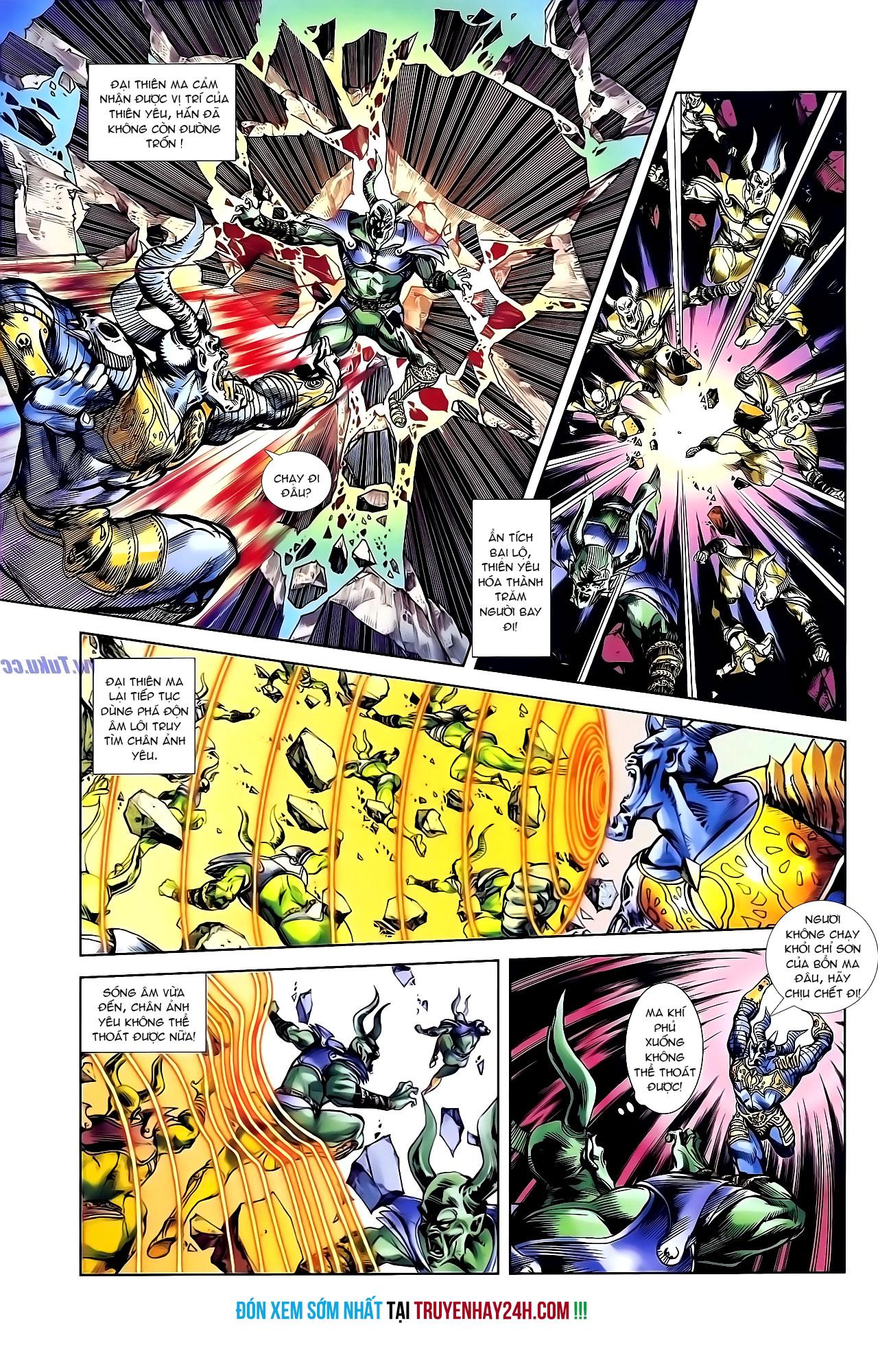 Cơ Phát Khai Chu Bản chapter 136 trang 29