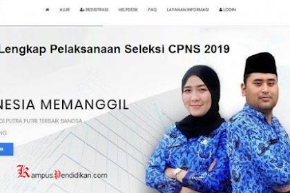 Jadwal Lengkap Pelaksanaan Seleksi CPNS 2019