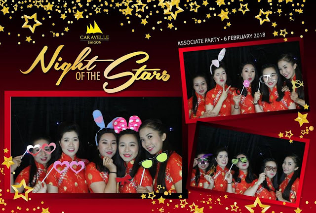 Night of the start associate party-Caravelle Saigon Photobooth Fotomoto