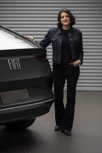 Novo SUV médio da Fiat - Fastback - traseira