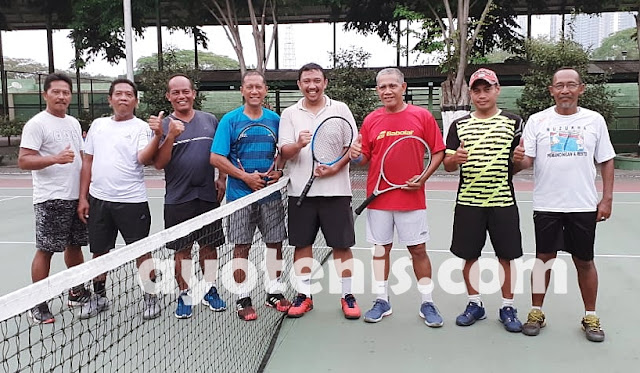 PORNAS KORPRI: Tenis Jatim Waspadai Jabar, MA, BPK, dan Depag, Namun Mereka Optimis Sabet 1 Emas dan 1 Perak