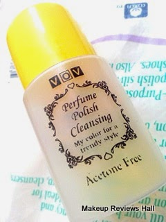 VOV Acetone Free Perfumed Nail Polish Remover Review