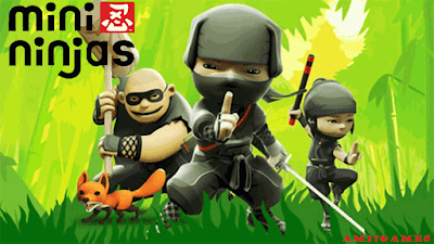 Mini Ninjas, is, one, of, the, best, ninja, games, Developed, by, IO Interactive, and, published, by, Eidos Interactive, on, September, 2009,