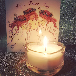 A Christmas Candle and a Christmas Wish