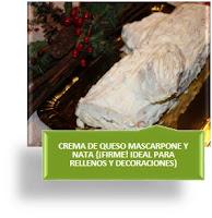 CREMA DE QUESO MASCARPONE Y NATA {¡MUY FIRME! IDEAL PARA RELLENOS Y DECORACIONES}