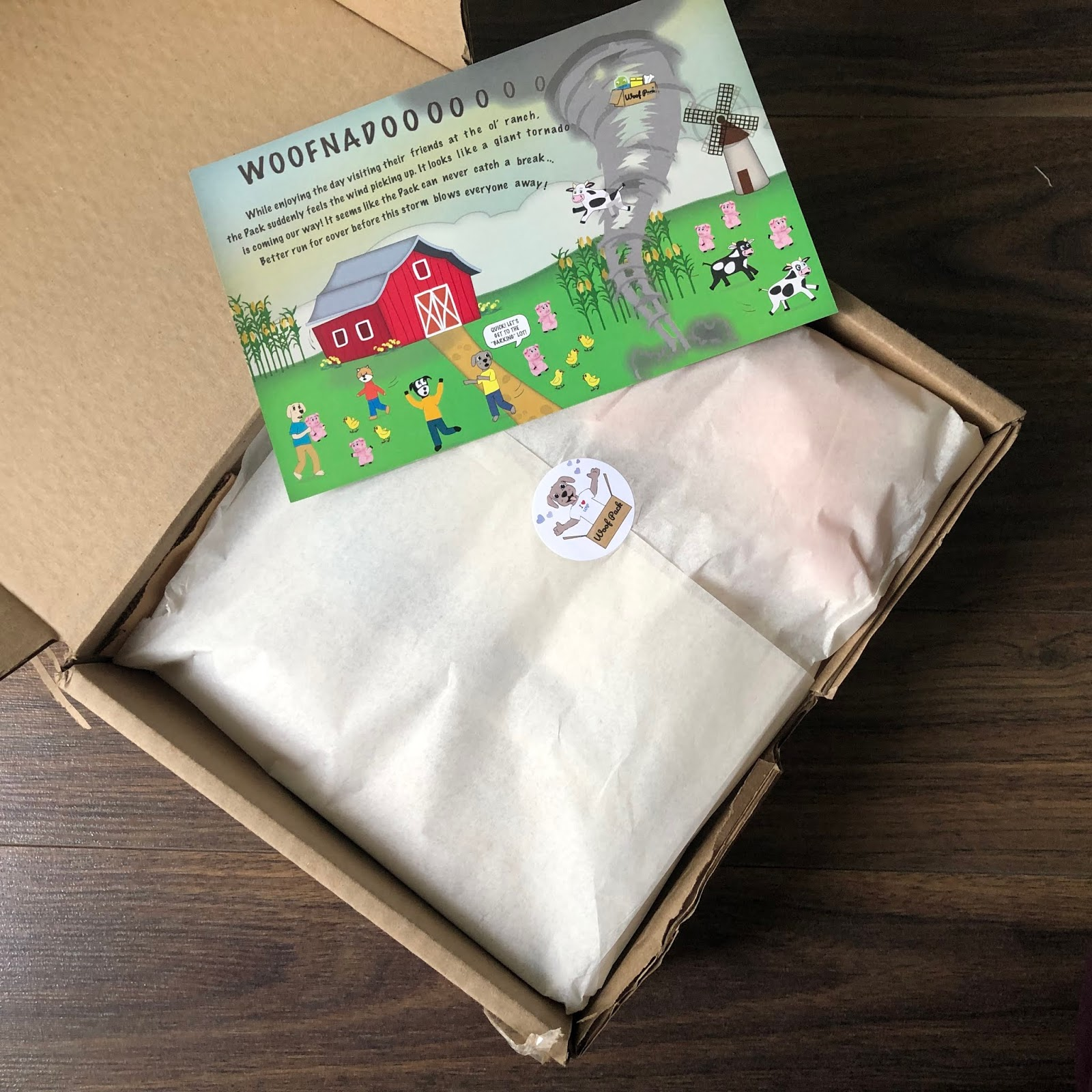 Woof Pack Review - March 2019 - Canadian Pet Subscription