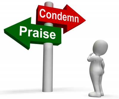 Condemn and praise signpost