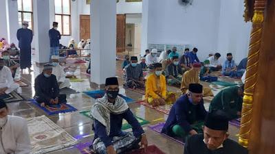 Shalat Id, Masjid Al Fatihah Perketat Prokes, Kapasitas Hanya 50 Persen
