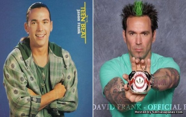 Jason David Frank (Tommy Oliver, Green-White Ranger)