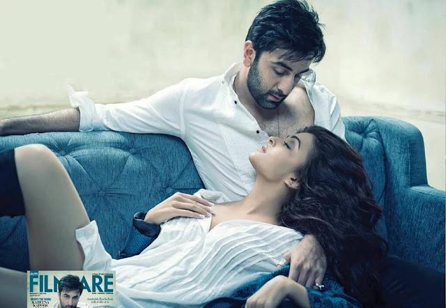 Ranbir, Aishwarya Filmfare Magazine hot photoshoot